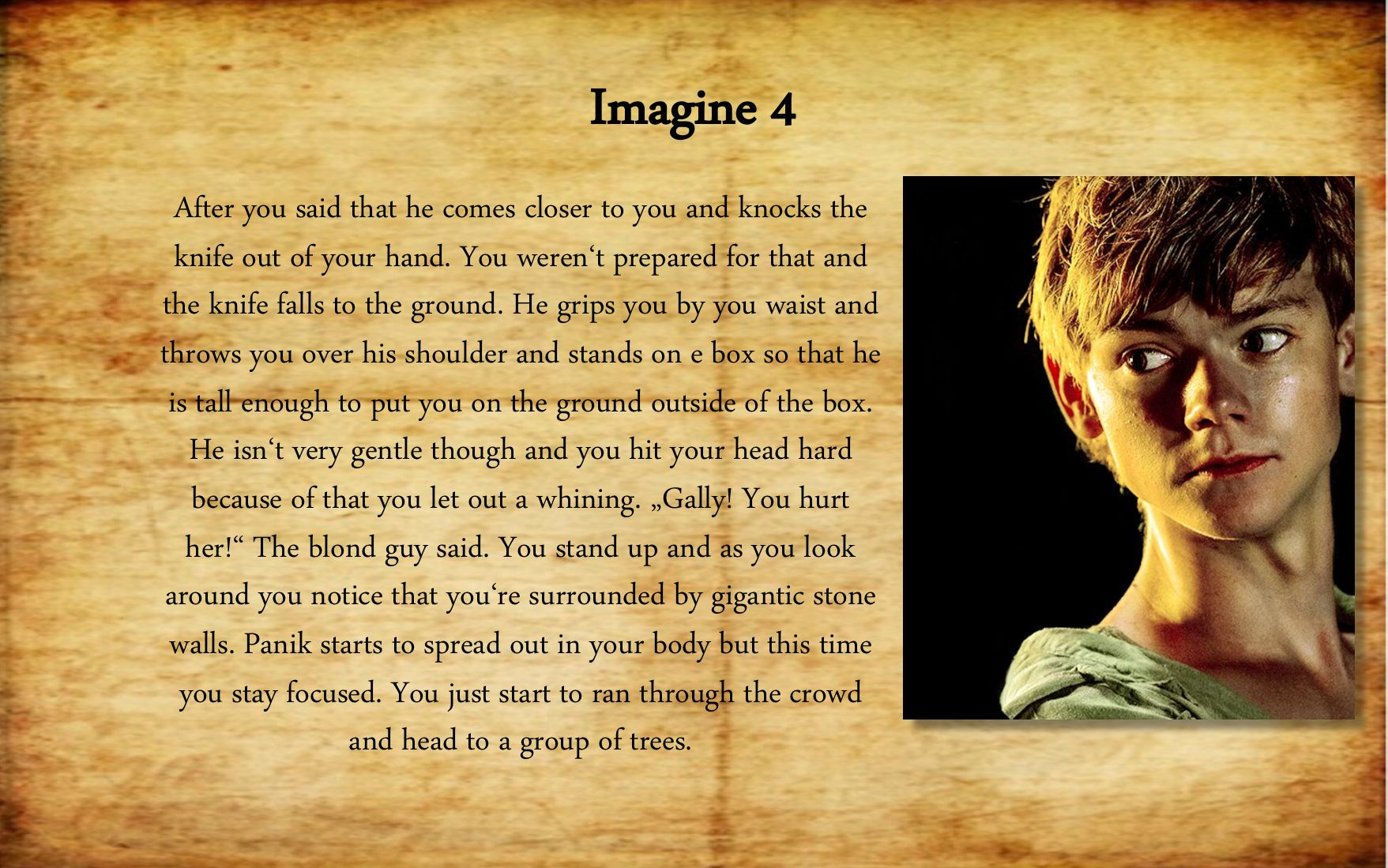 Pin by Kat Smith on Imagine Maze runner imagines, Maze