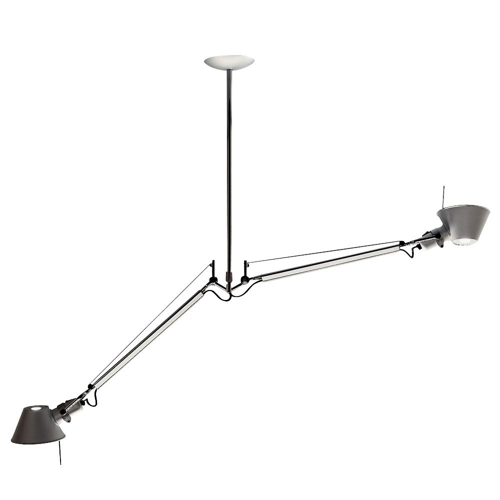 Artemide Tolomeo Double Pendant Light Olighting Artemide Tolomeo Artemide Pendant Light