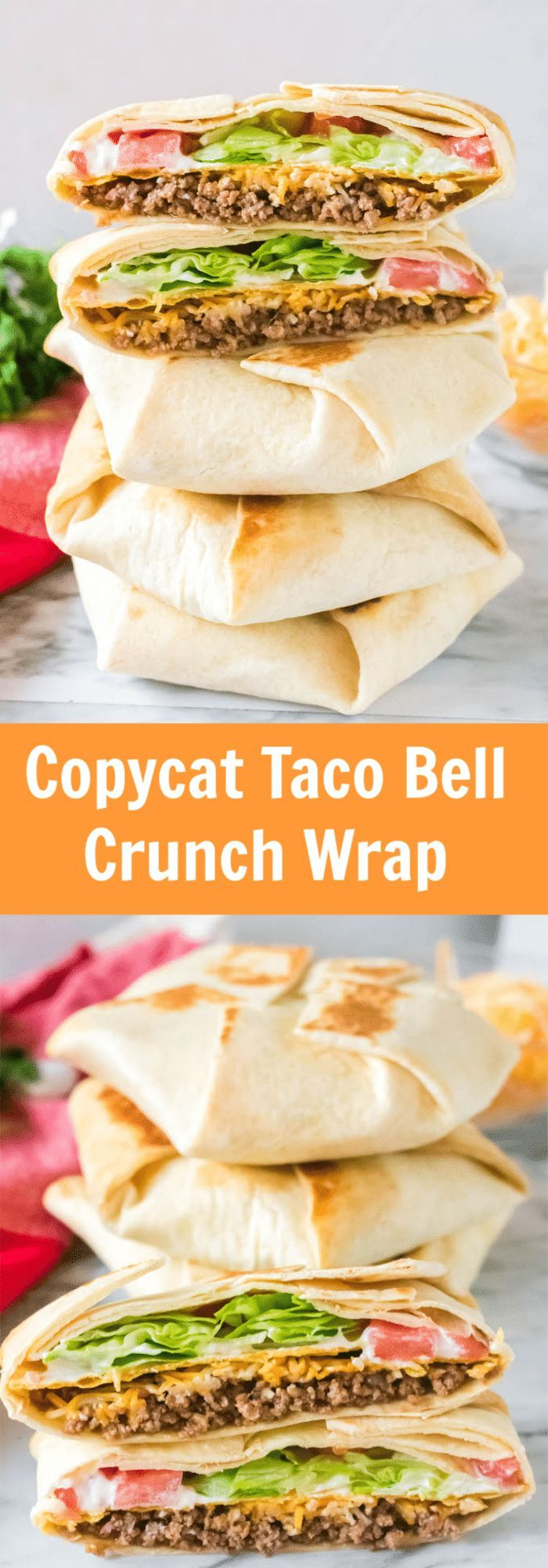 Photo of Delicious Copycat Taco Bell Crunchwrap