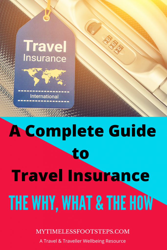 Travel Insurance A Complete Guide In 2020 With Images Travel