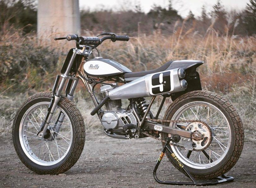 Honda Xr100 Flat Tracker Motorcycle Tracker Motorcycle Flat Tracker Flat Track Motorcycle