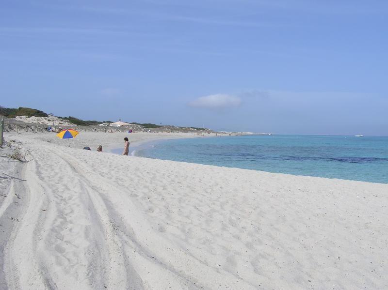 Tanga Beach In Formentera Made Of Powdery White Sands