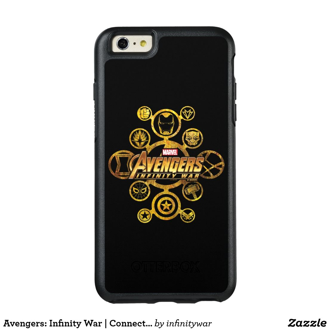 Avengers Infinity War Connected Hero Icons OtterBox