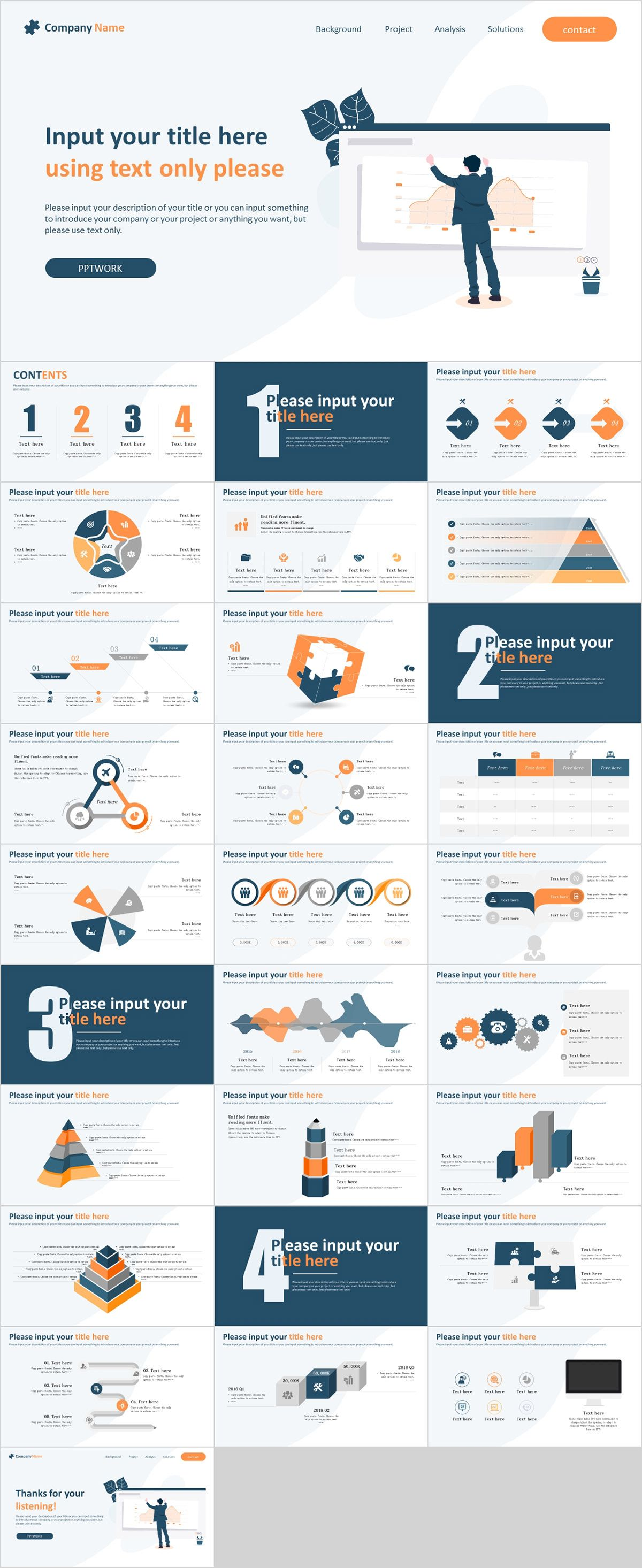 Simple Website Style Powerpoint Template Powerpoint Templates Presentation Animation Backg Simple Website Simple Powerpoint Templates Powerpoint Templates