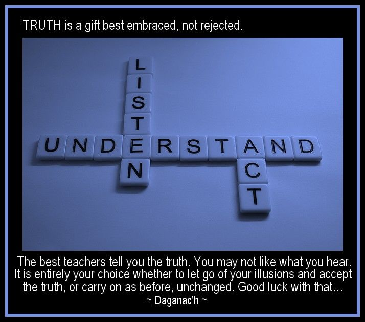 Truth, Teachers, Illusions, Change. Quotes.