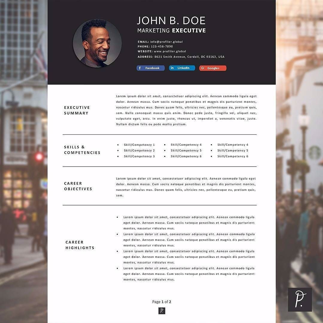 Minimal Resume The Modern Collection This Design Combines A