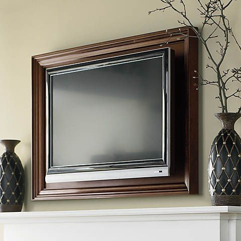 Wall Mounted Tv Frames Link From Jw Http Www Google Com Search Q Tv Wall Frame Safari En Lnms Isch X Thr9uddto5g Framed Tv Wall Mounted Tv Frame Around Tv