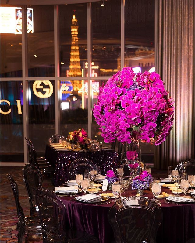 Dinner with a view. Las Vegas Wedding Planner ...