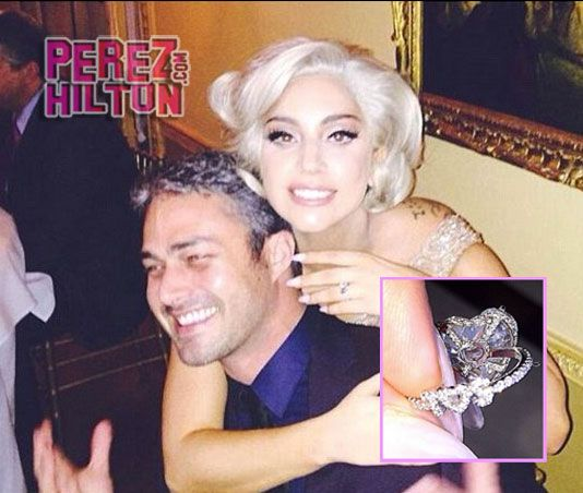 Lady GaGas Engagement Ring Features Personal Detailing You Didnt