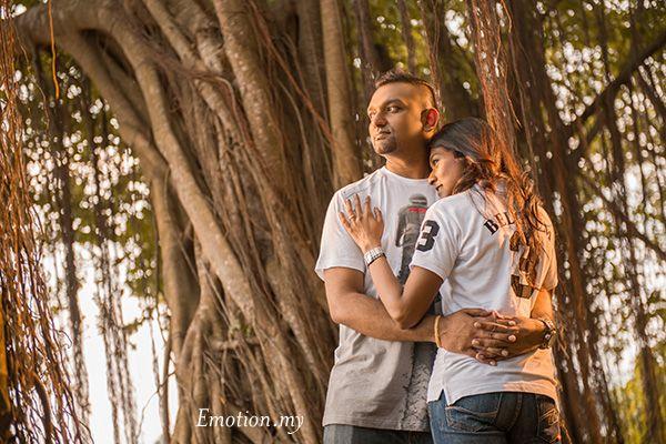 Outdoor Natural Light Portraits In Kuala Lumpur Praveen Meg Wedding Photographer Malaysia