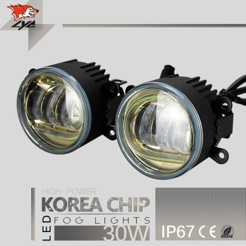 Lyc Small Projector Headlight Fog Lamp For Jeep Best Price Oempartscar Com Led Warning Lights Projector Headlights Led Fog Lights