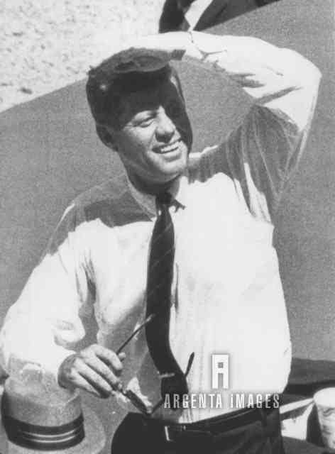 1962. Jfk at first 1962 All-Star Game, at D.C. Stadium in Washington