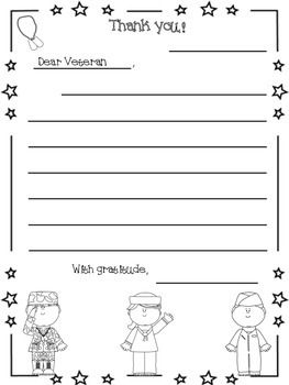 A Letter To A Hero Veteran S Day Veterans Day Activities Letters To Veterans Veteran S Day