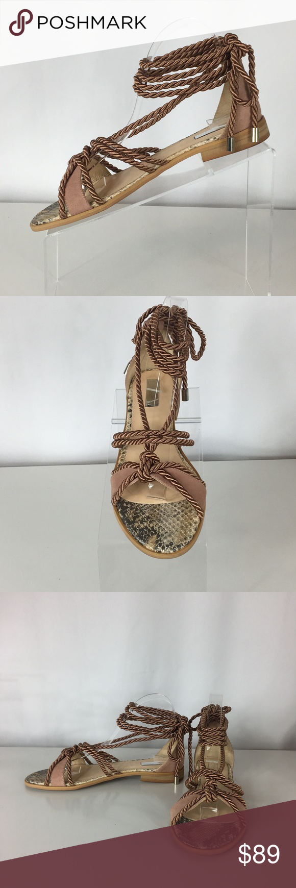 f3eaf7f4147 NIB Anthropologie- Elysess Rope Gladiator Sandals NEW IN BOX   SOLD OUT at  Anthropologie-