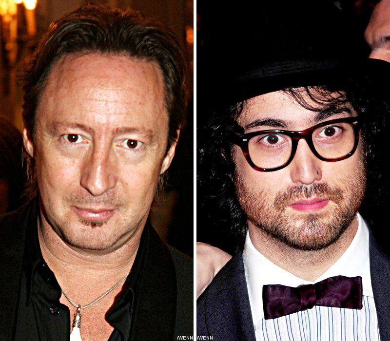 John Lennons Sons End Long Running Family Feud