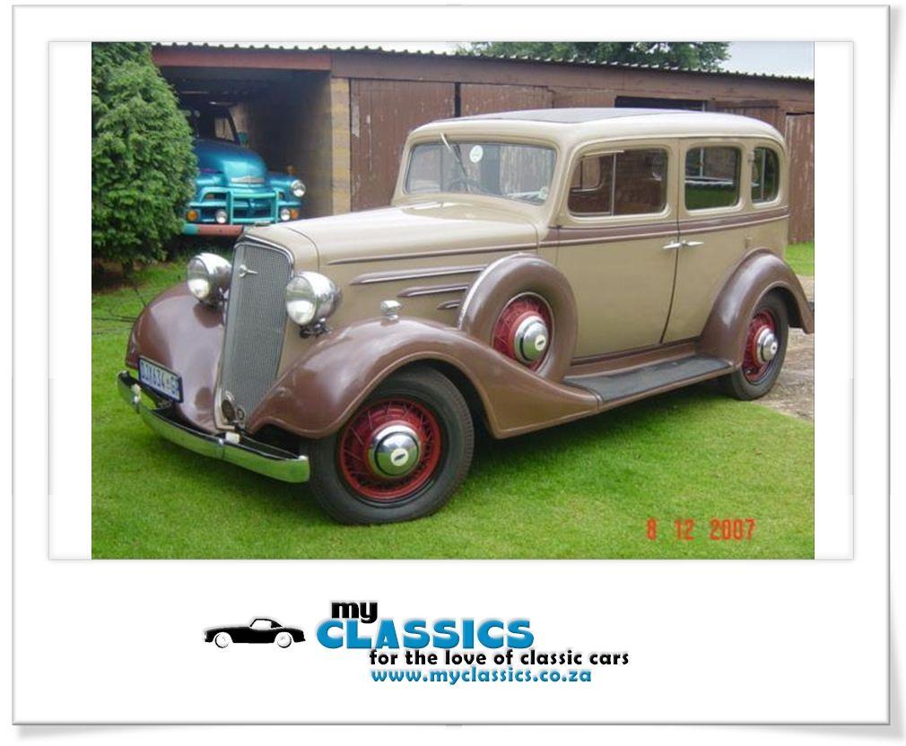 1934 Chevrolet Master Sedan classic car Classic cars