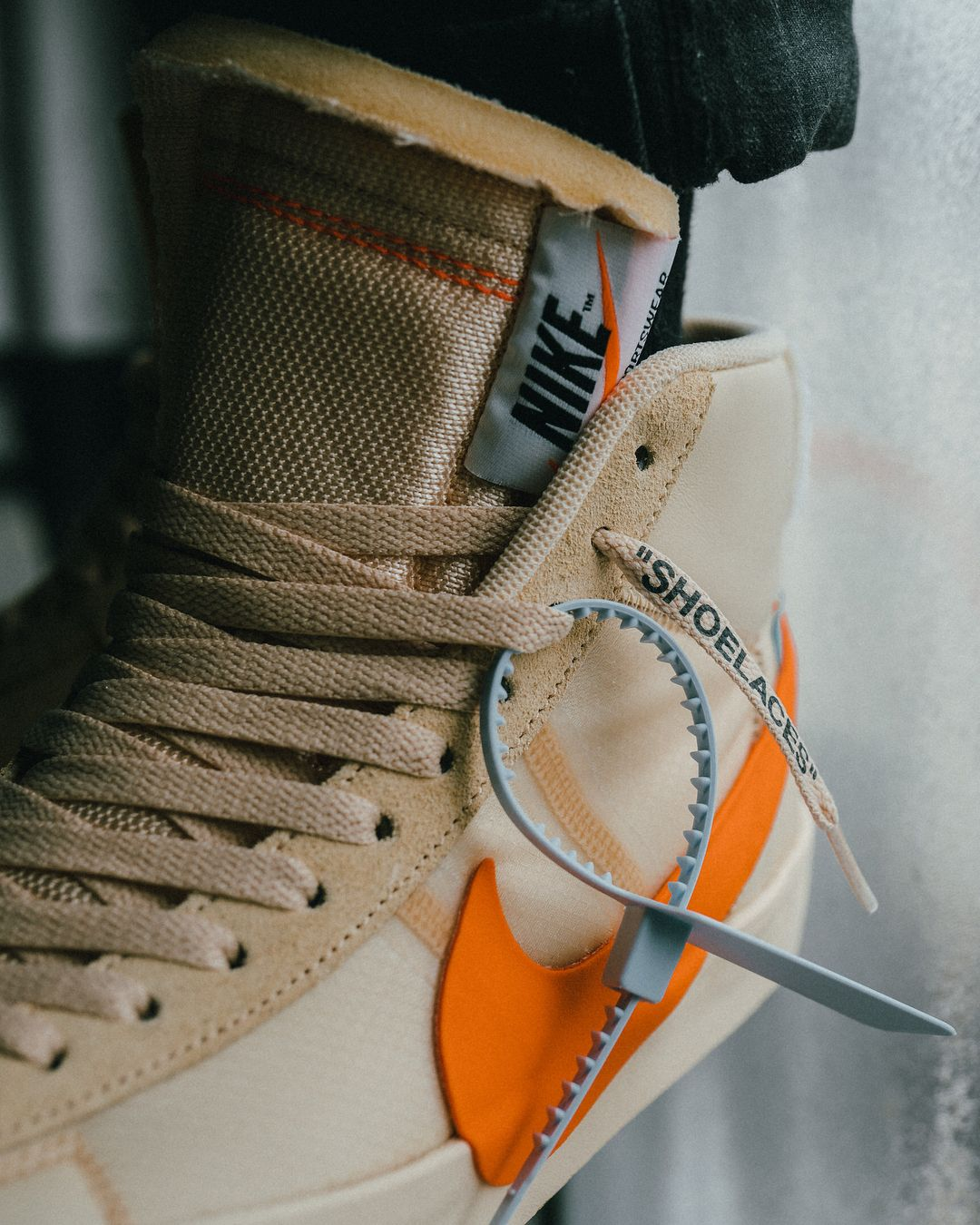 """66961bb8dd97 OFF-WHITE x Nike Blazer """"Spooky Pack"""" dropping next week. 👀 🎃 Hit the…"""""""