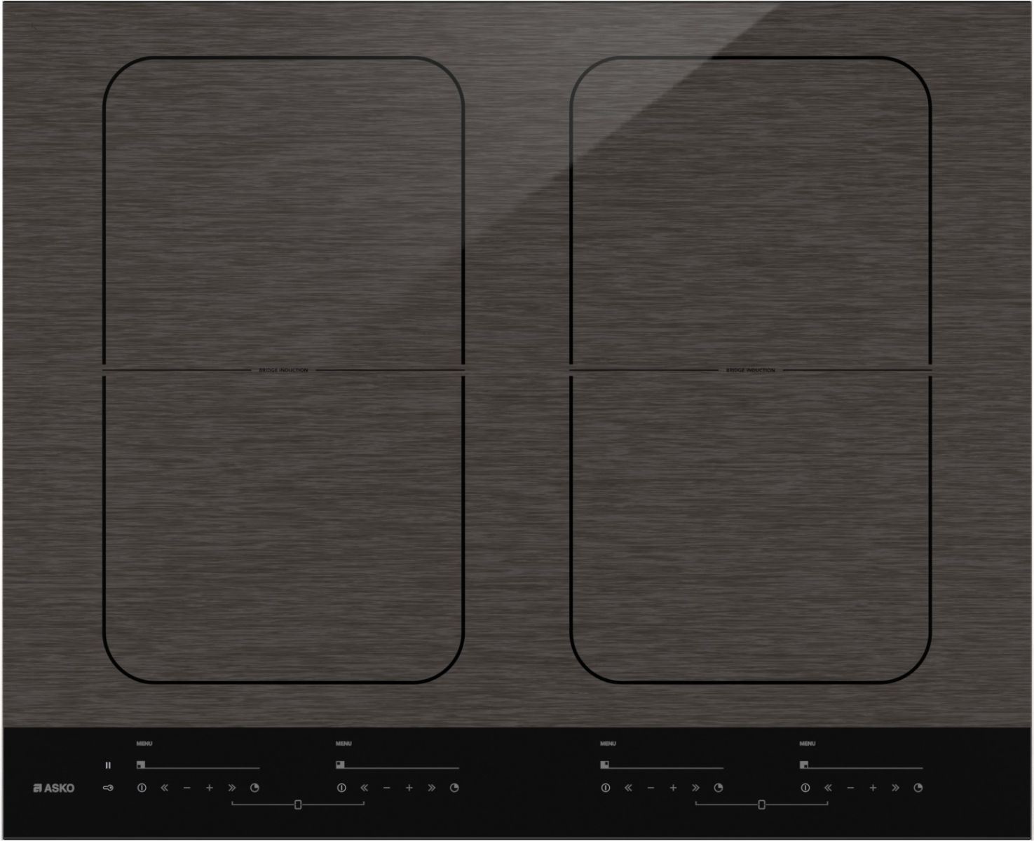 Exceptional Asko 60cm Induction Cooktop With Matt Black Finish Which Is Slip Resistant  And Mark