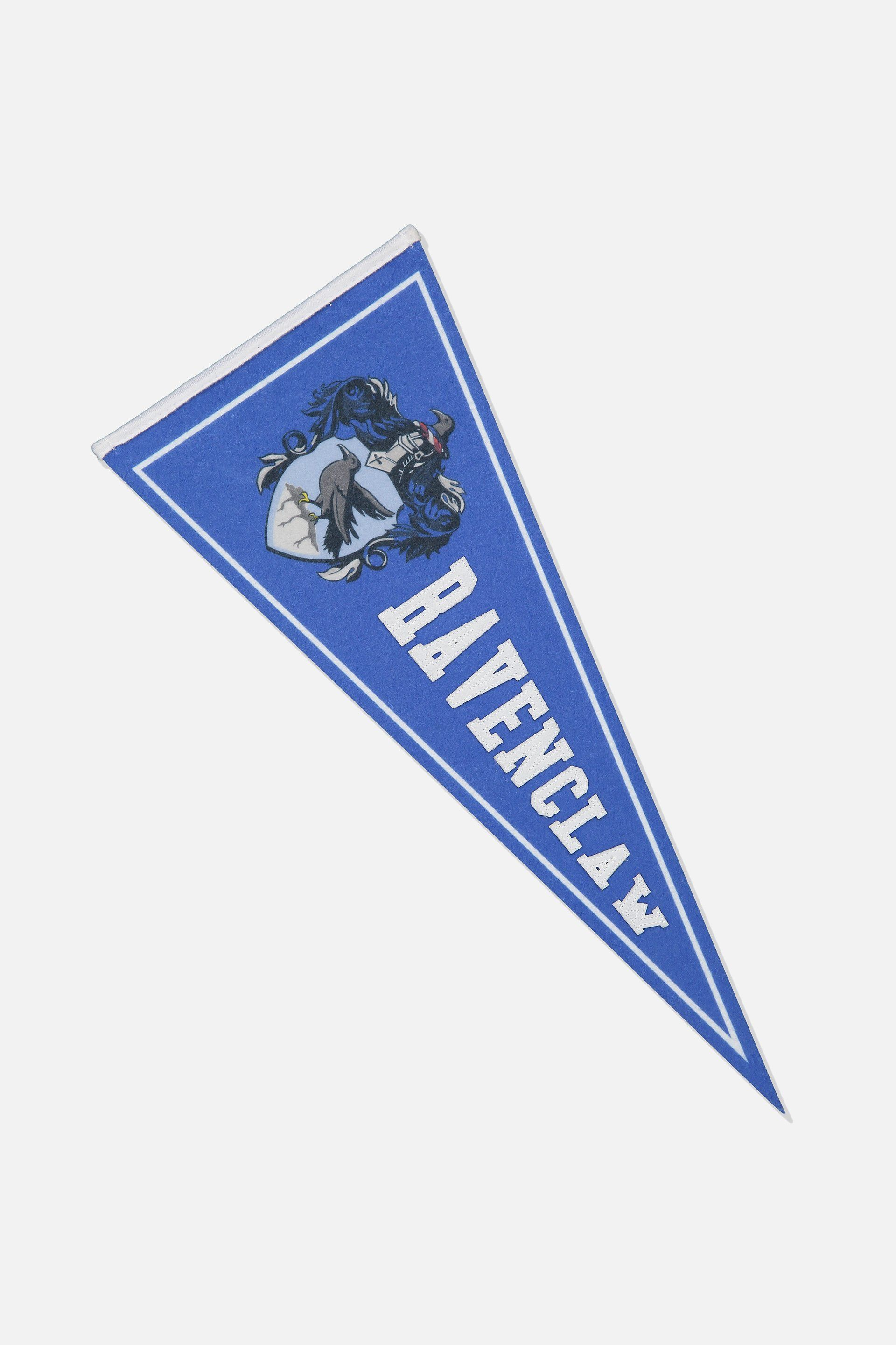 Ravenclaw Pennant Flag From Typo Wall Flag Pennant Flags Pennant