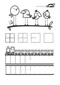 KROKOTAK PRINT! | printables for kids | Grafomotorika | Pinterest ...