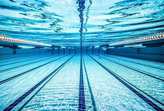 Amazon Com Lfeey 7x5ft Blue Swimming Pool Photography Backdrop Sports Theme Fitness Swim Comp Swimming Photography Swimming Pool Photography Pool Photography