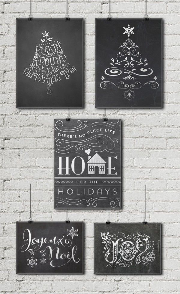 Astounding image for free printable chalkboard signs