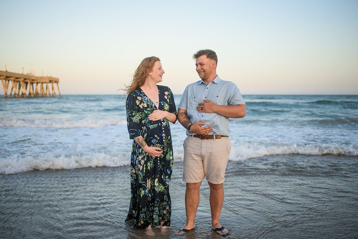 Allen Family Maternity Wrightsville Beach, North