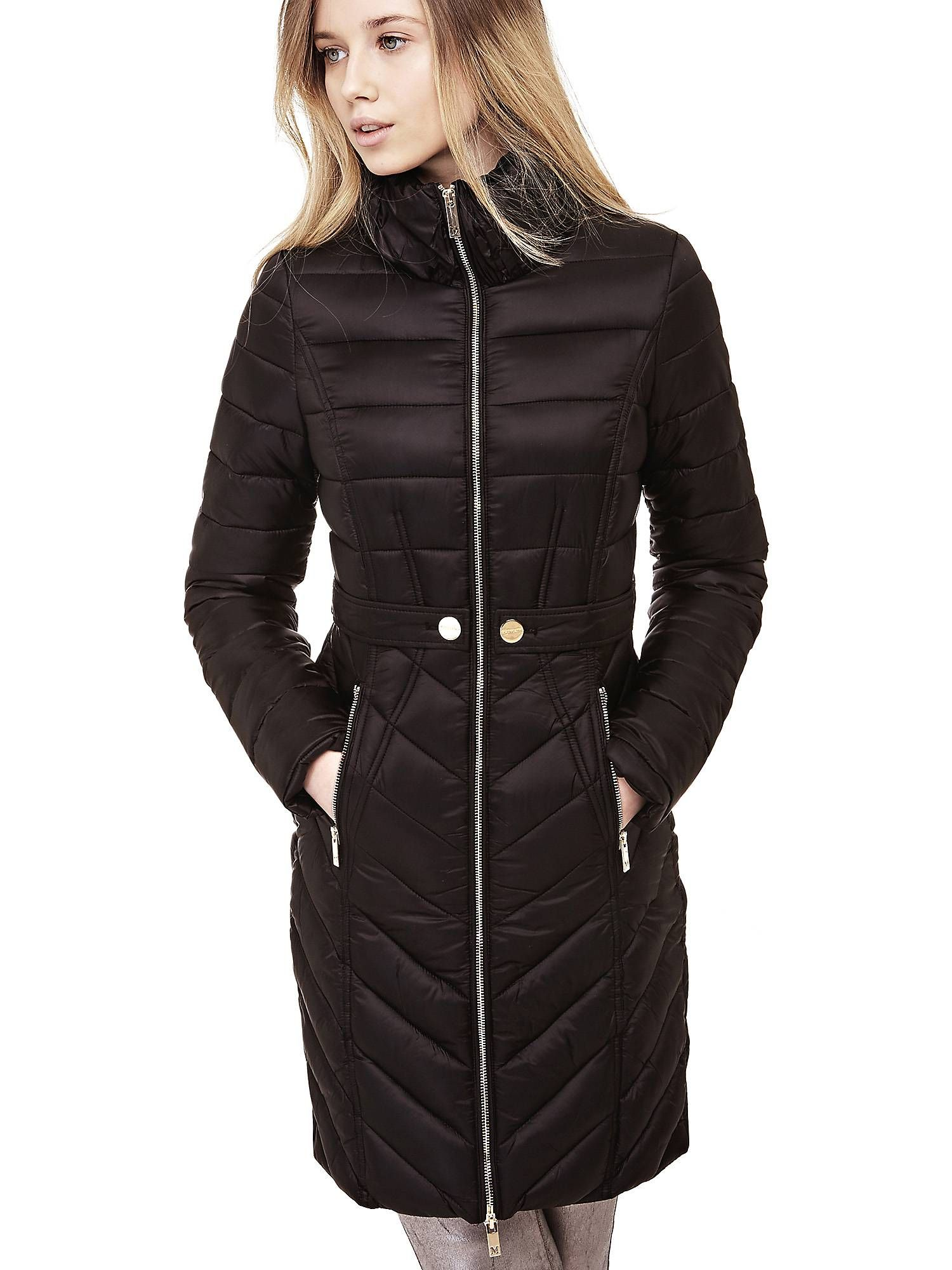 11918316f3e MARCIANO LONG DOWN JACKET on Guess.eu