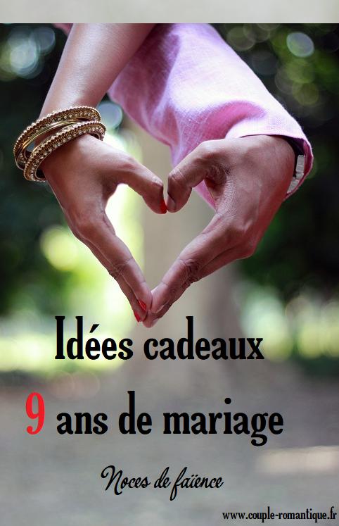 Trouvez Une Idée De Cadeau Pour 9 Ans De Mariage Diy
