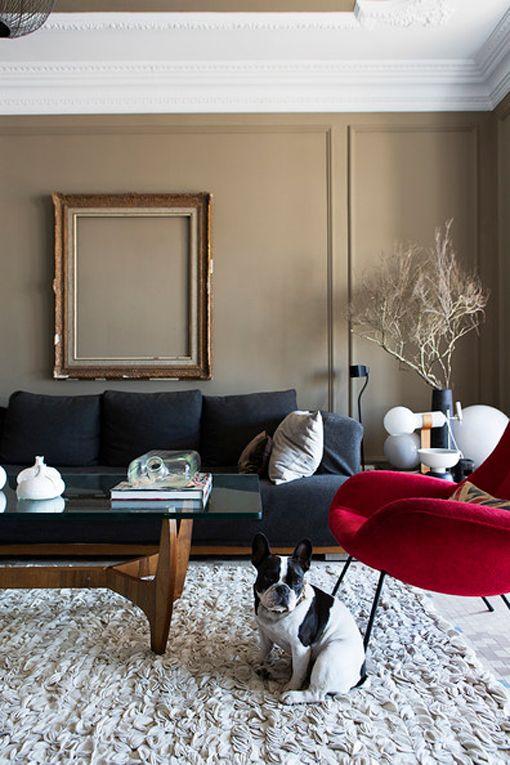 Ideas para decorar paredes con un marco vacío | Inspiring. Interiors ...