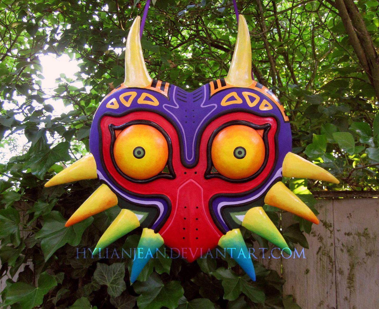 The Legend of Zelda: Majora\'s Mask Mould / New Majora\'s Mask Closeup ...
