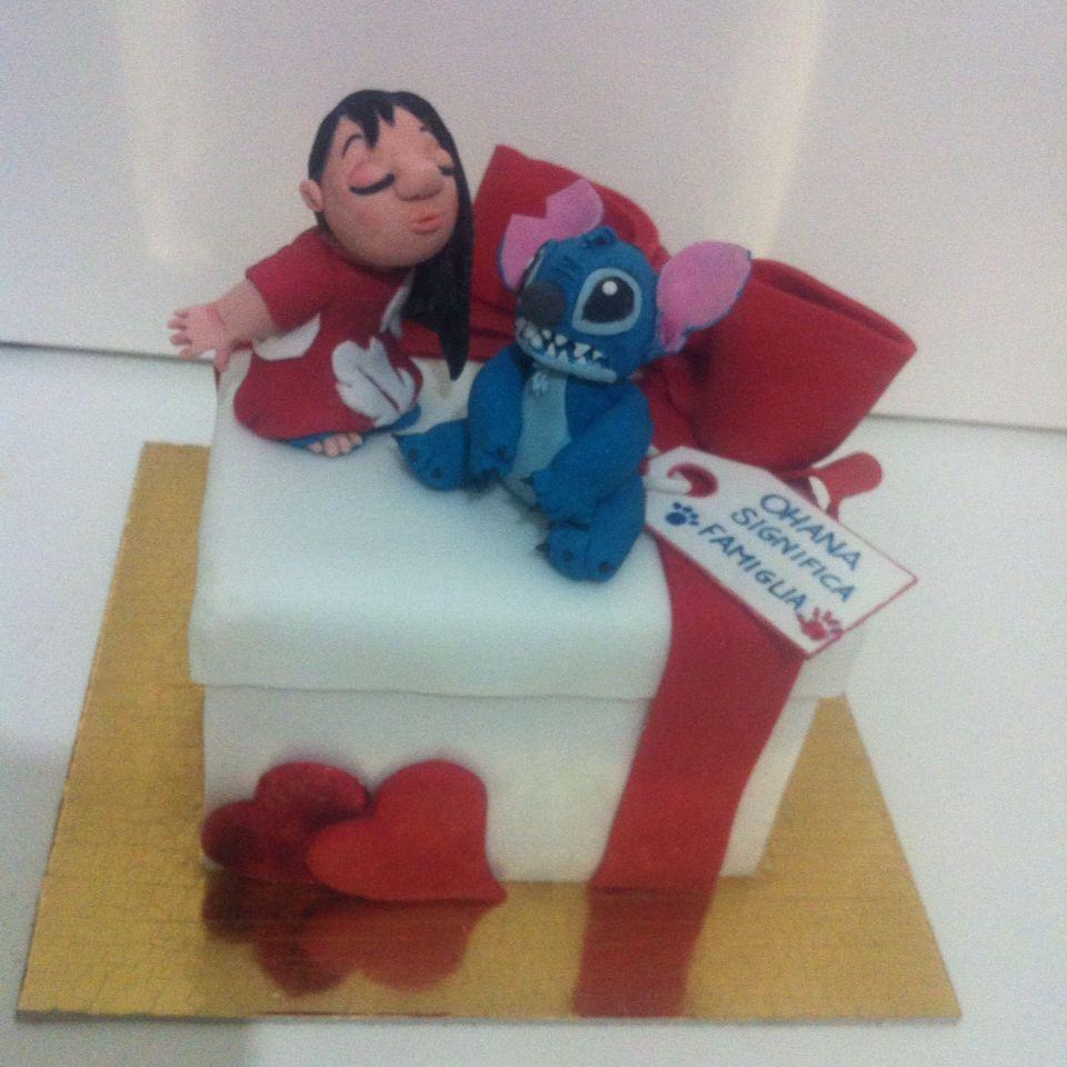 Torta Lilo & Stich - Le torte di Camilla Jesholt Buffatti