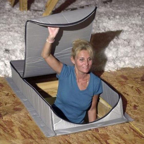 Attic Tent At2 Reflective Insulation For Attic Ladder Attic Renovation Attic Doors Attic Ladder