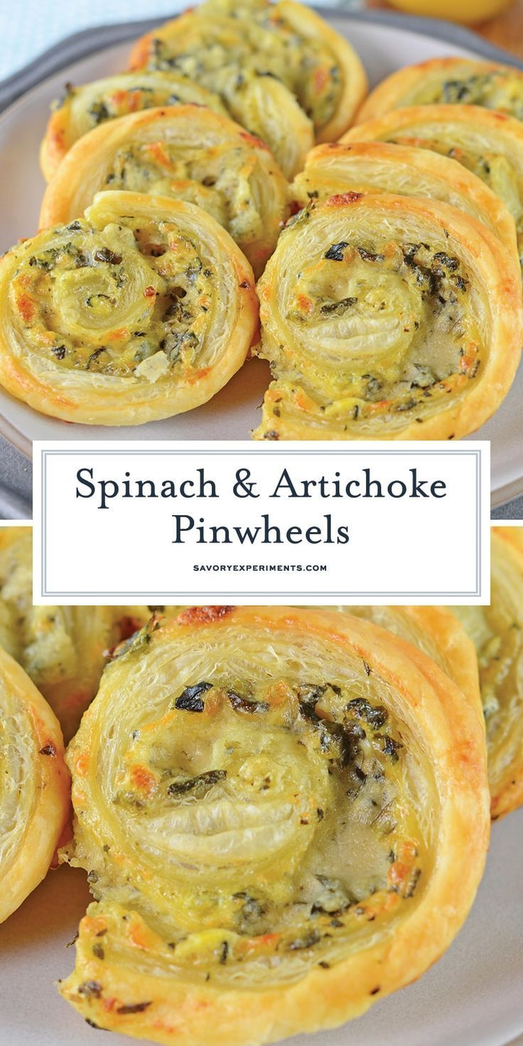 and Artichoke Pinwheels are an easy party appetizer that everyone will l... - Recipes to try -