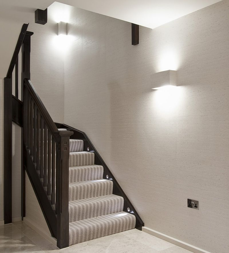 Lighting Basement Washroom Stairs: Stair Lighting Design By John Cullen Lighting.