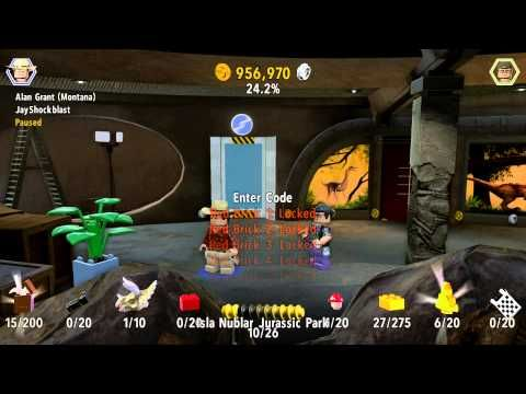LEGO Jurassic World - How To Enter Cheat Codes (With All Available ...