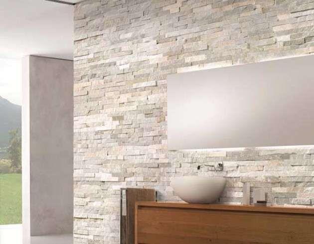 decorare pareti interne in pietra bagno con pareti in pietra