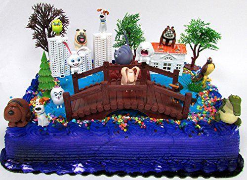 Secret Life of Pets Birthday Cake Topper Set Featuring Ch... https://www.amazon.com/dp/B01MYDZESY/ref=cm_sw_r_pi_dp_x_QnnizbX3GKKVF