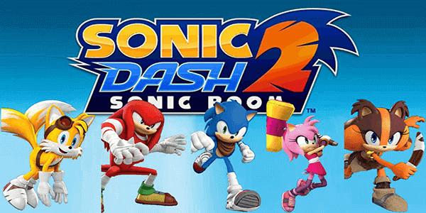 تحميل لعبة سونيك داش مهكرة Sonic Dash 2 Sonic Boom للاندرويد 2018 اخر اصدار Sonic Dash Sonic Boom Sonic