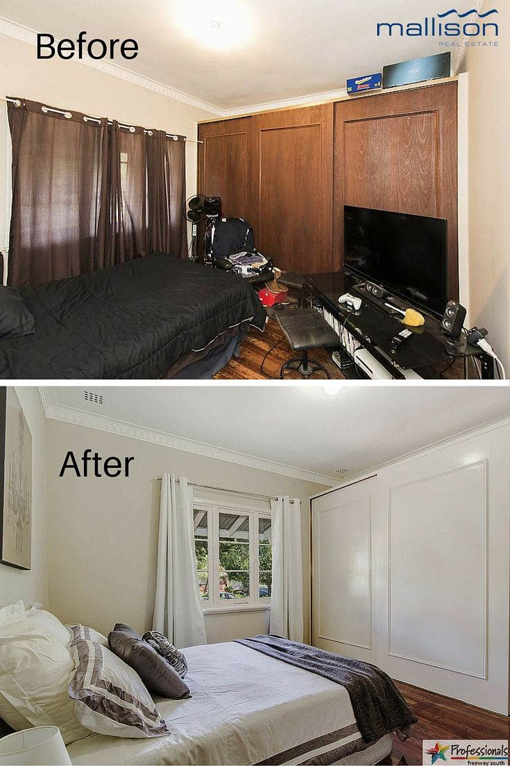 Before And After Bedroom Renovation By Renovating Made Easy