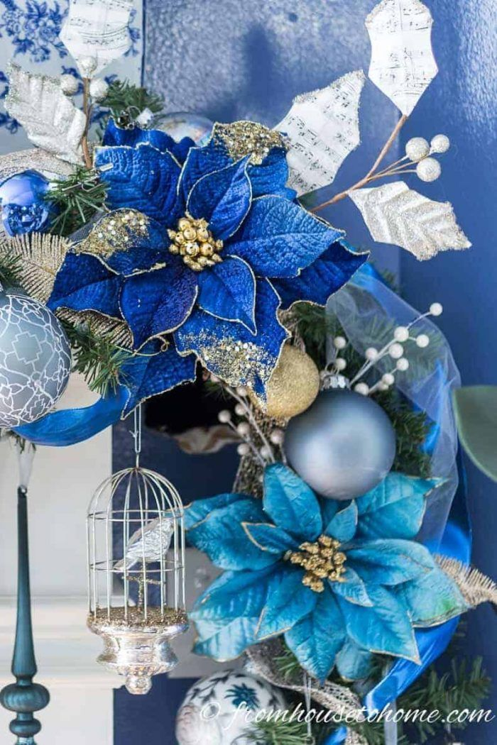 50 Stunning Interior Design Ideas That Will Take Your House To Another Level: How To Make A Christmas Garland For The Fireplace Mantel