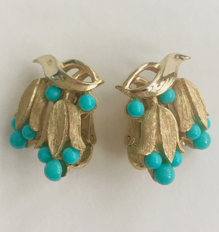 Earrings value trifari Trifari Vintage