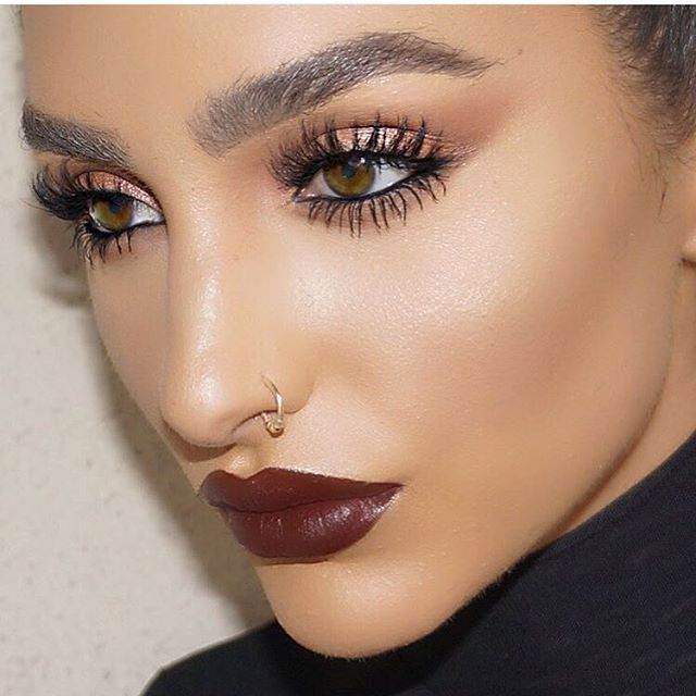 5441247960f @ash_kholm wearing NEW #LillyLashes in style