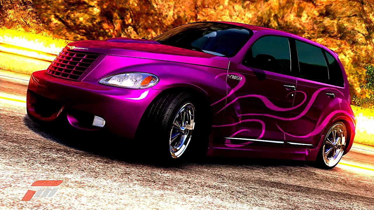 Chrysler pt cruiser gt very awesome color