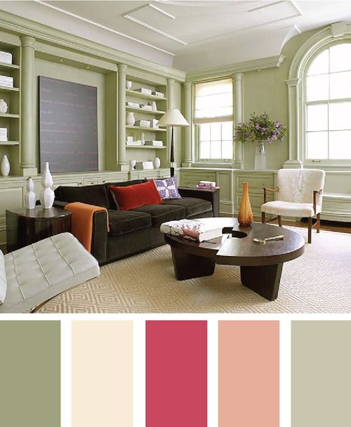 Great Color Pallet  For The 100 Year Old Home That I Will Someday Mesmerizing Interior Design Living Room Color Scheme Design Decoration