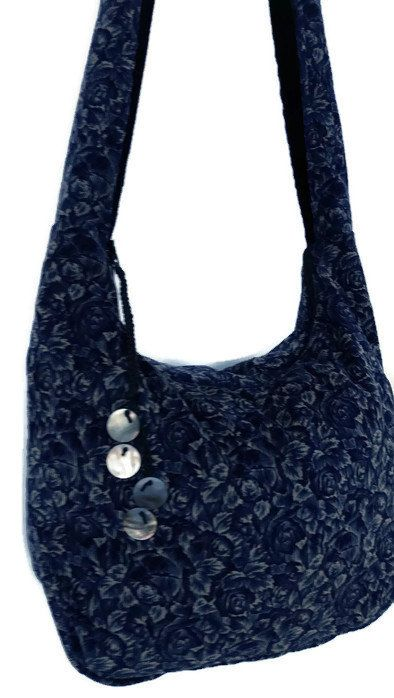 3383161100d Navy blue hobo bag - corduroy hobo bag - large hobo bag - hobo bag ...