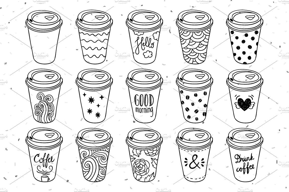 coffee to go paper cups | starbucks cup drawing, coffee to go, paper cup  pinterest