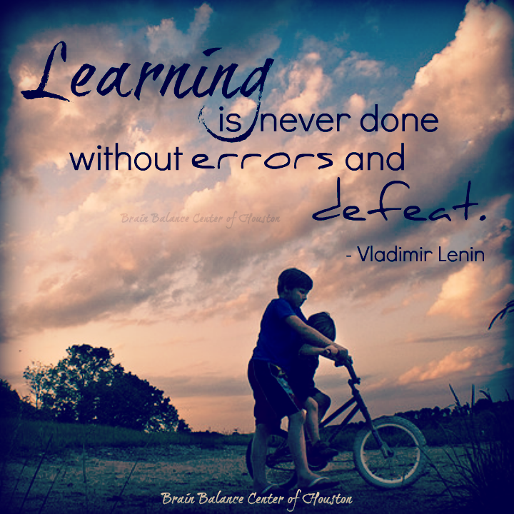 """#Learning is never done without #errors and #defeat."" ~ Vladimir Lenin #wordsofwisdom #learningquote #motivational #motivation #instaquote #quote #quoteoftheday #truth #truetalk #growth #Houston #Texas #TX #addressthecause #brainbalance #afterschoolprogram"