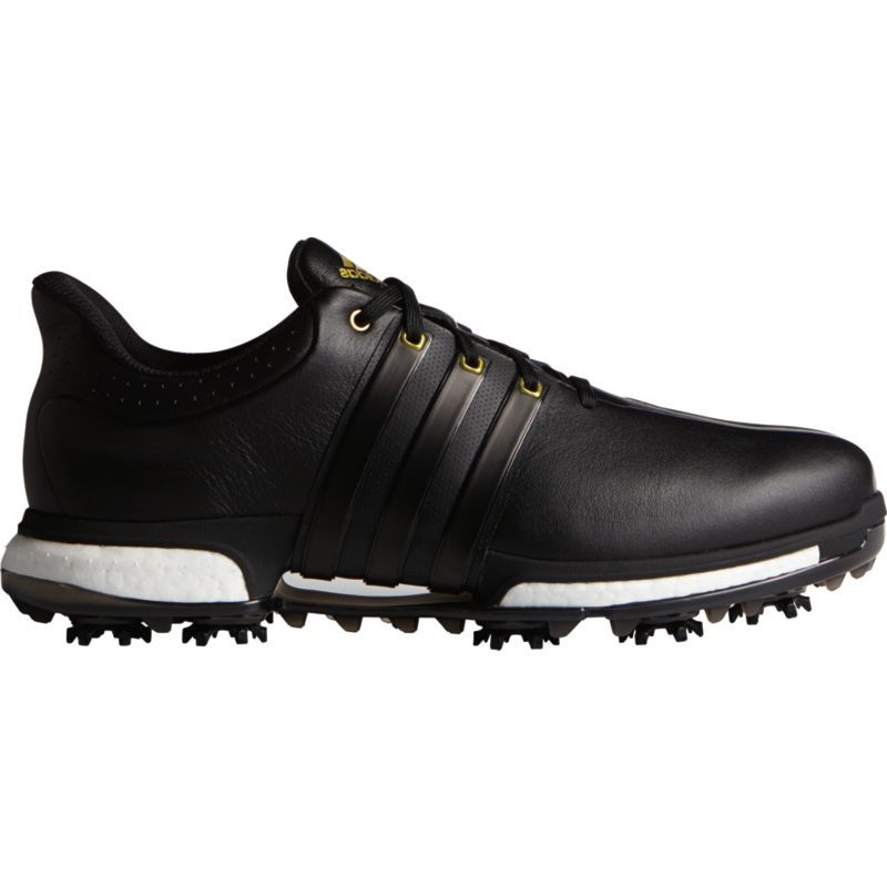 adidas TOUR360 Boost Golf Shoes, Men's, Size: 10.0MEDIUM, Black
