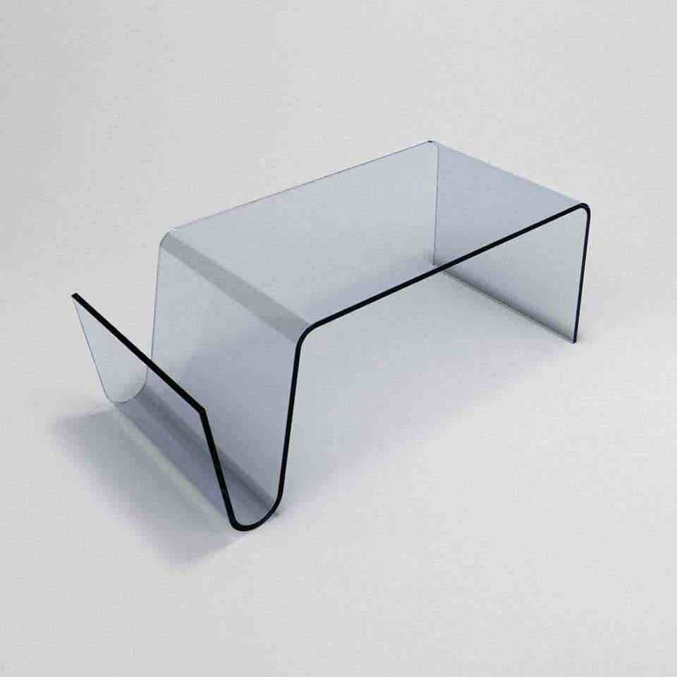 Priviste Glass Coffee Table With Storage Klarity Glass Furniture Glass Coffee Table Coffee Table Glass Furniture [ 960 x 960 Pixel ]
